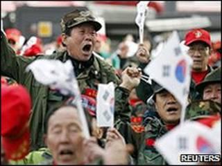 تظاهرات غضب في كوريا الجنوبية