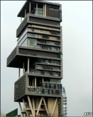 ساختمان آقای آمبانی