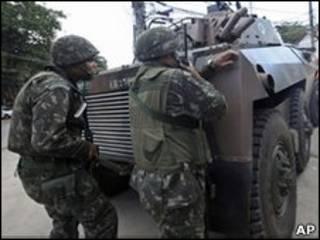 قوات برازيلية