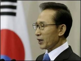 Shugaban Korea ta Kudu, Lee Myung-Bak