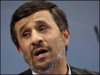 shugaba Ahmadinedjad na Iran