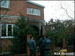 Дом в Кущевской, где были убиты 12 человек