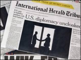 التسريبات في صحف العالم