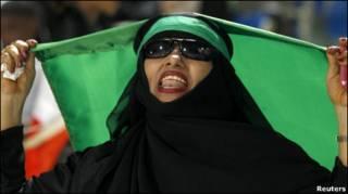 من أنصار الفريق السعودي لكرة القدم