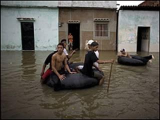 Enchentes na Venezuela