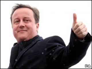 Премьер-министр Великобритании Дэвид Кэмерон на пути в Цюрих