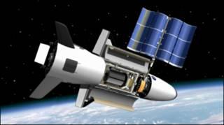 Prototip pesawat antariksa X-37B milik militer AS