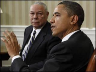 اوباما وباول