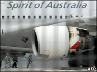 Самолет авиакомпании Qantas