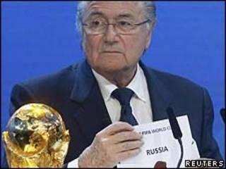Sepp Blatter/Reuters