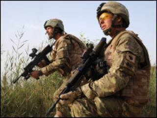 Британские солдаты в Афганистане