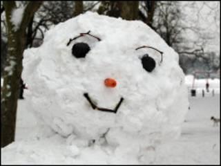 تمثال الثلج