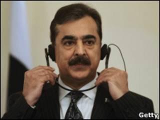 Thủ tướng Yusuf Raza Gilani