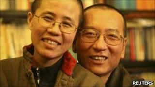 Vợ chồng ông Lưu Hiểu Ba
