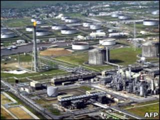 Завод Shell в Нигерии