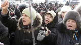 Протест опозиції у Києві 6 грудня