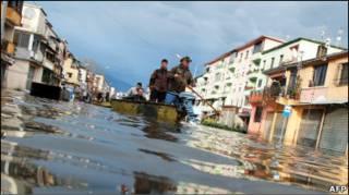 Повінь в Албанії