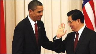 TT Obama và Chủ tịch Hồ Cẩm Đào