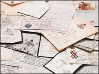 Cartas, postales e ilustraciones de los hijos del zar Alejandro III