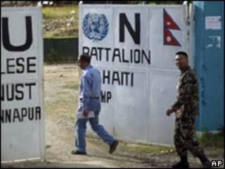 हाइटीमा नेपाली शान्ति मिसन