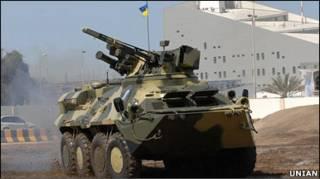 БТР-3Е1 - гордість збройового експорту України