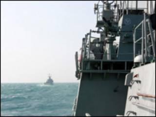 Tàu chiến Việt Nam và Trung Quốc tham gia diễn tập