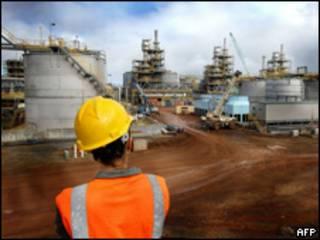 Projeto de níquel da Vale no Pacífico Sul (Foto: Agencia Vale/AFP)