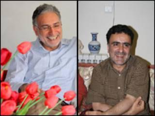 مصطفی تاج زاده و محمد نوری زاد