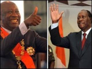 Laurent Gbagbo da Alassane Ouattara