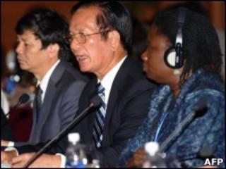 Ông Võ Hồng Phúc tại hội nghị tư vấn các nhà tài trợ cho Việt Nam