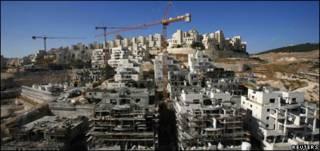 الاستيطان الاسرائيلي في جبل ابو غنيم