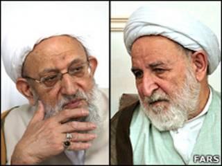 محمد یزدی و محمدرضا مهدوی کنی