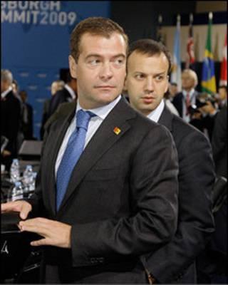 مدفيديف ودوركوفيتش