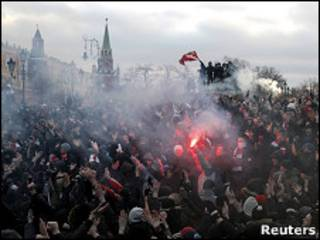 Столкновения на Манежной площади