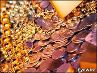 Золото и монеты
