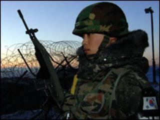 جندي كوري جنوبي