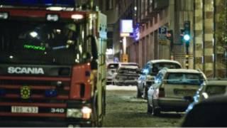 स्वीडन में धमाका