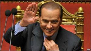 Сильвіо Берлусконі у парламенті