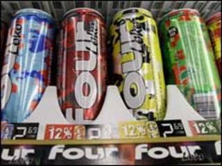 نوشابه های انرژی زای الکلی