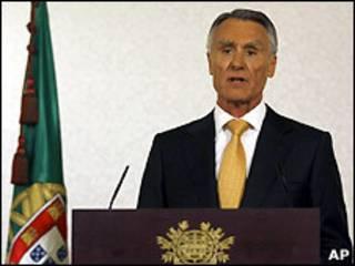 Presidente português Antonio Cavaco Silva/AP