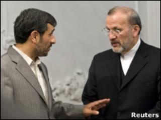 Ахмадинежад и Моттаки