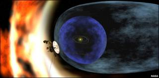 Desenho da Voyager (Nasa)