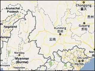 shan_china_map