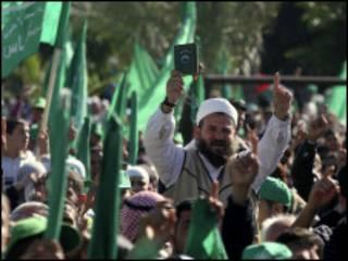 مسيرة حماس