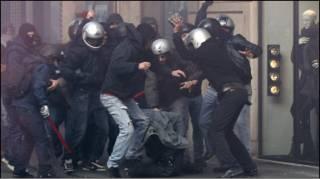 اعمال عنف في روما