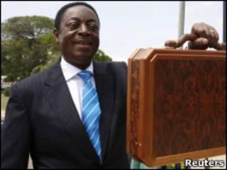 Министр финансов Ганы Квабена Дуффур