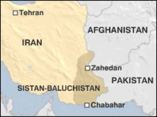 peta, iran, map