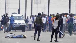 Zanga-zanga a Ivory Coast