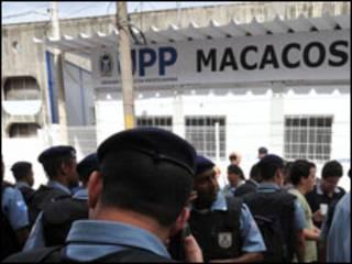 Inauguração da UPP no Morro dos Macacos (Foto: Agência Brasil)