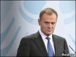 دونالد تاسك رئيس الحكومة البولندية